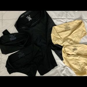 Shapewear yummy yummy jockey thong shorts lot
